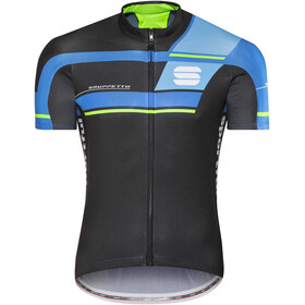 Sportful Gruppetto Pro Team Bike Jersey Shortsleeve Men blue/black